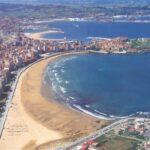 Playa de San Lorenzo en Gijón