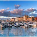 El muelle de Gijón