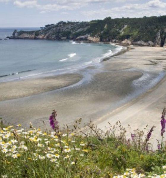 Las playas de Navia en Asturias