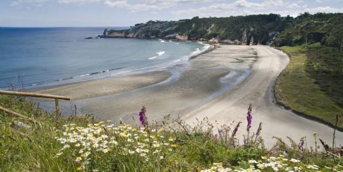 Las playas de Navia