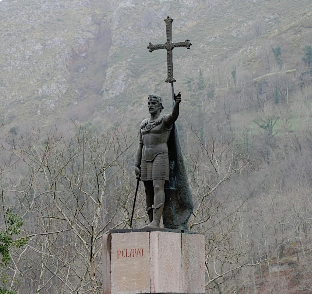Don Pelayo en Asturias