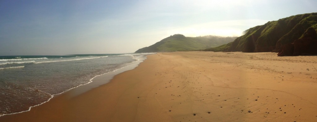 La Playa de Vega en Ribadesella