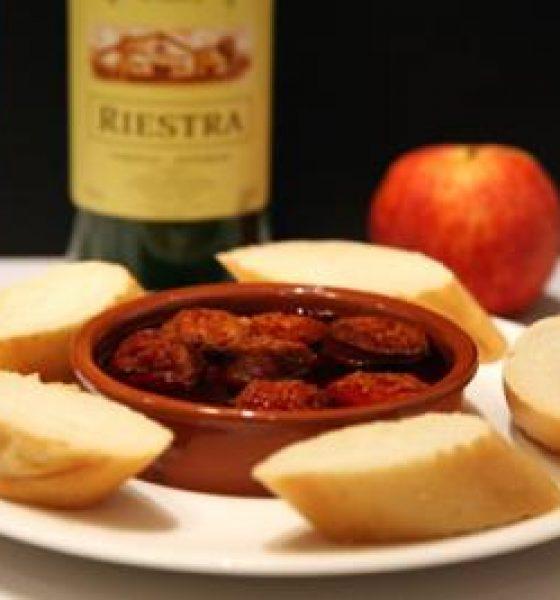 Receta de Chorizos a la Sidra Asturianos