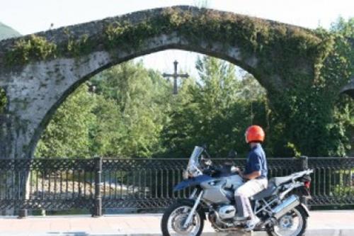 Turismo en moto por Asturias