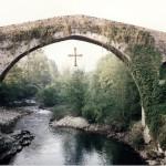 El Puente romano de Cangas de Onís