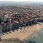 La Playa de San Lorenzon en Gijón