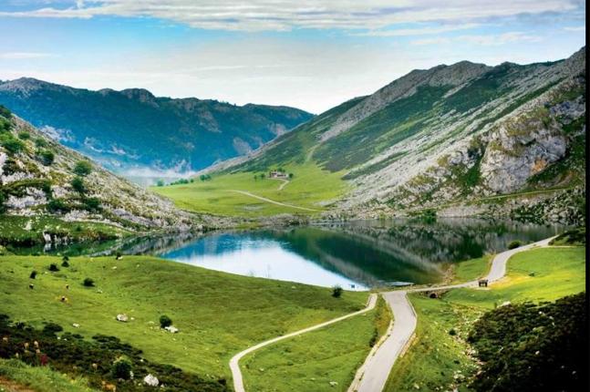 Las montañas del ciclismo en Asturias