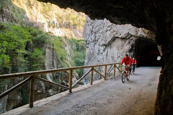 Senderismo y cicloturismo en la Senda del Oso