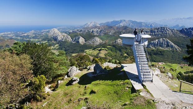 El Mirador del Fito en los Picos de Europa