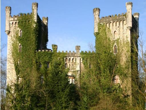 Espectácular castillo medieval